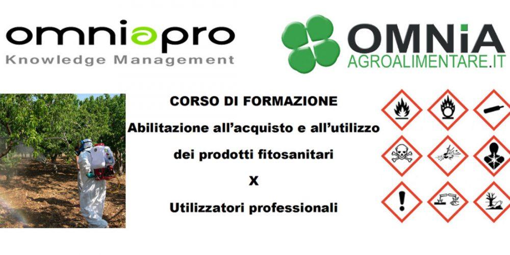 Abilitazione all'acquisto e utilizzo di prodotti fitosanitari